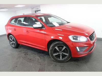 Volvo XC60 SUV 2.4 D5 R-Design Lux Nav AWD (s/s) 5dr