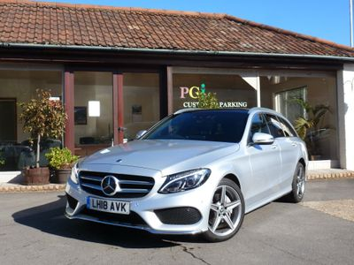 Mercedes-Benz C Class Estate 2.1 C220d AMG Line (Premium Plus) G-Tronic+ 4MATIC (s/s) 5dr