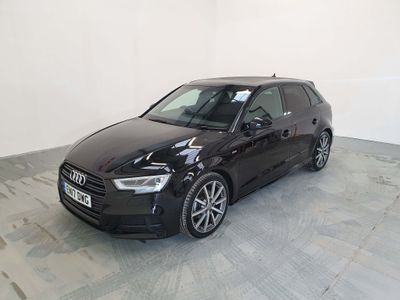 Audi A3 Hatchback 1.6 TDI Black Edition Sportback S Tronic (s/s) 5dr
