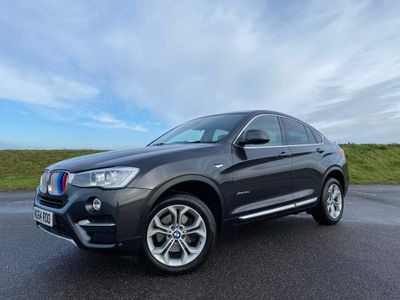BMW X4 SUV 3.0 30d xLine Auto xDrive (s/s) 5dr