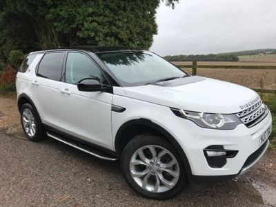 Land Rover Discovery Sport SUV 2.0 TD4 HSE Auto 4WD (s/s) 5dr