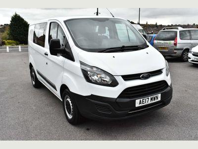 Ford Transit Custom Combi Van 2.0 TDCi 290 Double Cab-in-Van 6dr Diesel Manual L1 H1 (EU6) (161 g/km, 104 bhp)