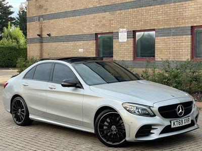 Mercedes-Benz C Class Saloon 2.0 C300 AMG Line Night Edition (Premium Plus) G-Tronic+ (s/s) 4dr