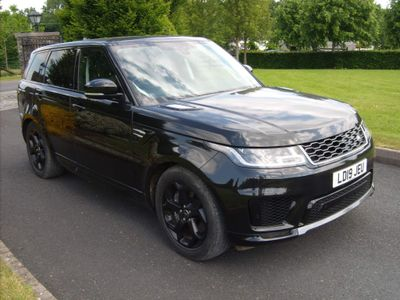 Land Rover Range Rover Sport SUV 2.0 P400e 13.1kWh GPF HSE Auto 4WD (s/s) 5dr