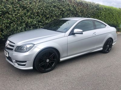 Mercedes-Benz C Class Coupe 2.1 C220 CDI AMG Sport Plus 2dr