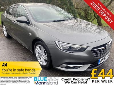 Vauxhall Insignia Hatchback 1.6 Turbo D ecoTEC BlueInjection SRi Nav Grand Sport (s/s) 5dr