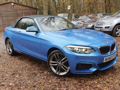 BMW 2 Series Convertible 1.5 218i GPF SE (s/s) 2dr