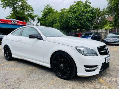 Mercedes-Benz C Class Coupe 2.1 C220 CDI AMG Sport Edition (Premium Plus) 7G-Tronic Plus 2dr