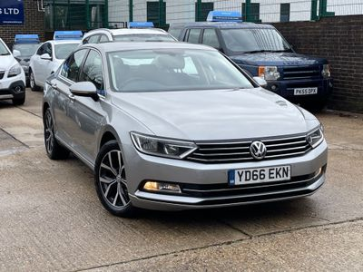 Volkswagen Passat Saloon 2.0 TDI BlueMotion Tech SE Business DSG (s/s) 4dr