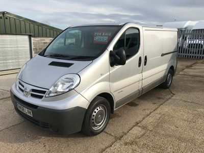 Nissan Primastar Panel Van 2.0 dCi SE 2900 Low Roof Panel Van 4dr (LWB)