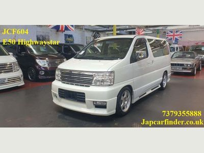 Nissan Elgrand MPV Highwaystar Sunroof leather low mileage