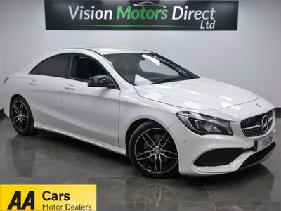Mercedes-Benz CLA Class Coupe 2.1 CLA220d AMG Line 7G-DCT 4MATIC (s/s) 4dr