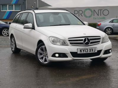 Mercedes-Benz C Class Estate 2.1 C200 CDI SE (Executive) 5dr (Map Pilot)
