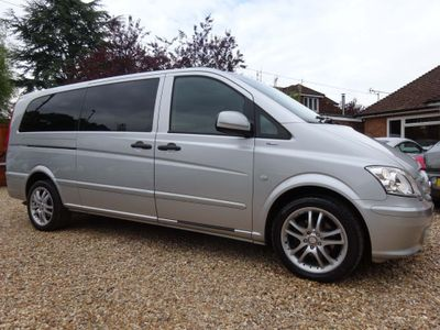Mercedes-Benz Vito Minibus 2.1 113CDI BlueEFFICIENCY Traveliner Compact Bus 5dr (EU5, 8 Seats)