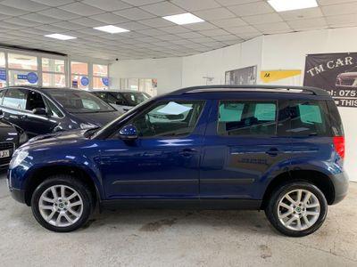 SKODA Yeti SUV 2.0 TDI CR DPF Elegance 4x4 5dr