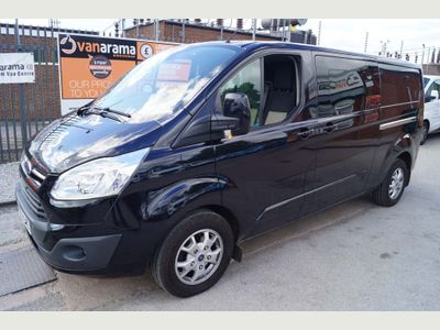 Ford Transit Custom Unlisted DOUBLE-CAB VAN LIMITED 2.2TDCi 125 LWB