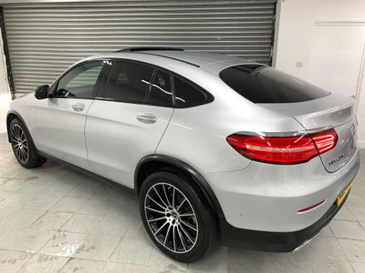 Mercedes-Benz GLC Class Coupe 2.1 GLC250d AMG Line (Premium Plus) G-Tronic 4MATIC (s/s) 5dr