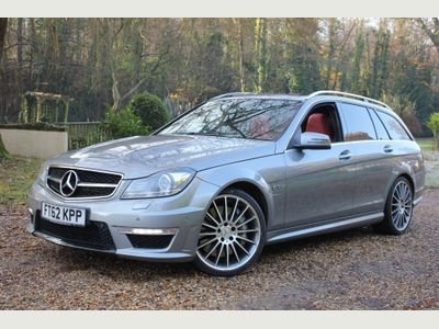 Mercedes-Benz C Class Estate 6.3 C63 AMG MCT 7S 5dr (COMAND)