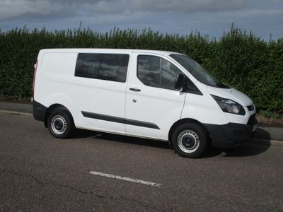 Ford Transit Custom Other 2.2 TDCi 270 Double Cab-in-Van L1 H2 5dr