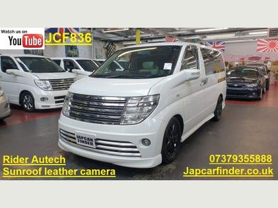 Nissan Elgrand MPV Rider Autech Sunroof Leather P door
