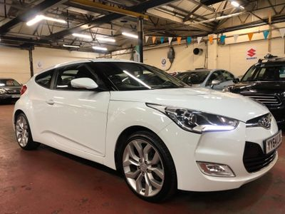 Hyundai Veloster Coupe 1.6 SE 4dr
