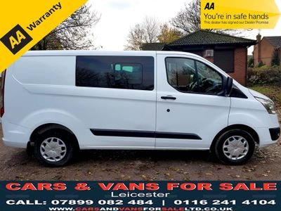 Ford Transit Custom Other 2.2 TDCi 290 L2H1 Trend Double Cab-in-Van 5dr