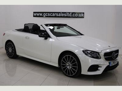 Mercedes-Benz E Class Convertible 3.0 E450 V6 AMG Line (Premium Plus) Cabriolet G-Tronic+ 4MATIC (s/s) 2dr