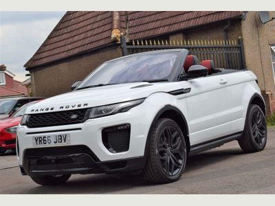 Land Rover Range Rover Evoque Convertible 2.0 TD4 HSE Dynamic Lux Auto 4WD (s/s) 2dr
