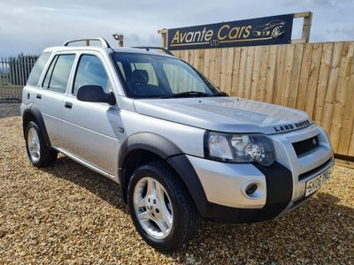Land Rover Freelander SUV 2.0 TD4 Freestyle 5dr