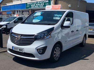 Vauxhall Vivaro Panel Van 1.6 CDTi 2900 BiTurbo Sportive L1 H1 EU6 (s/s) 5dr