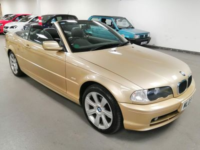 BMW 3 Series Convertible 2.0 318Ci 318 2dr