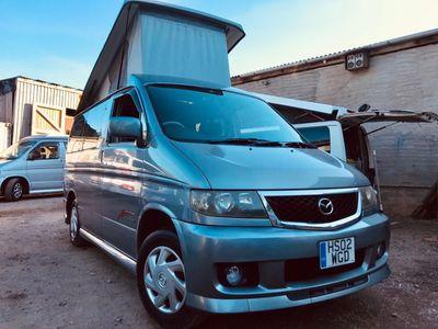 Mazda BONGO POP TOP 4 BERTH 8 SEATER 59K PETROL Campervan