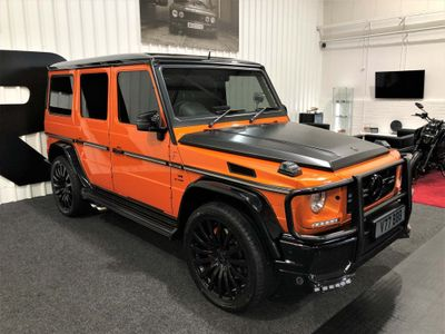 Mercedes-Benz G Class SUV 5.5 BiTurbo V8 AMG Colour Edition SpdS+7GT 4WD (s/s) 5dr