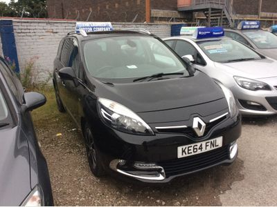 Renault Grand Scenic MPV 1.5 dCi Dynamique TomTom Bose Pack EDC Auto 5dr