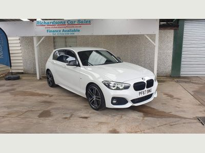 BMW 1 Series Hatchback 2.0 120d M Sport Shadow Edition Sports Hatch Auto (s/s) 5dr