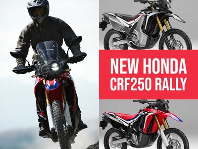 Honda CRF250 Rally Trail Bike