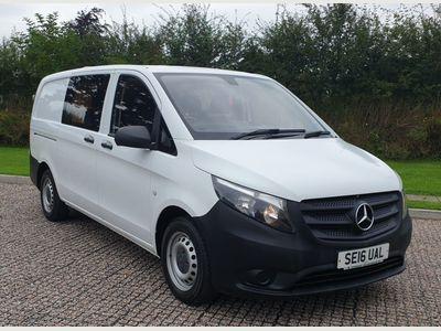 Mercedes-Benz Vito Combi Van 1.6 111 CDi Crew Van FWD L3 EU5 5dr