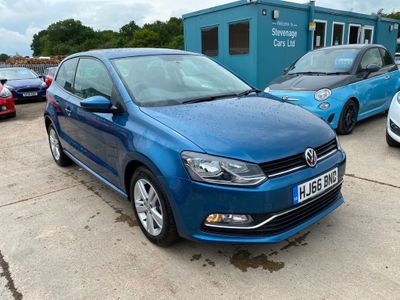 Volkswagen Polo Hatchback 1.2 TSI BlueMotion Tech Match (s/s) 3dr