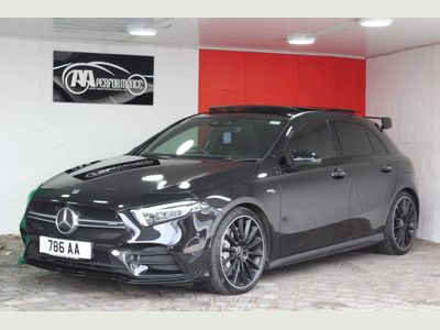 Mercedes-Benz A Class Hatchback 2.0 A35 AMG (Premium Plus) SpdS DCT 4MATIC (s/s) 5dr