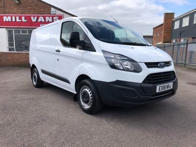 Ford Transit Custom Panel Van 270 2.0TDCi 104BHP(EU6) 5Door Panel Van