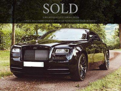 Rolls-Royce Wraith Coupe 6.6 V12 Black Badge Auto 2dr