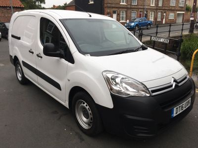 CITROEN BERLINGO Panel Van 1.6 BlueHDi L2 750 X Panel Van 6dr (EU6)