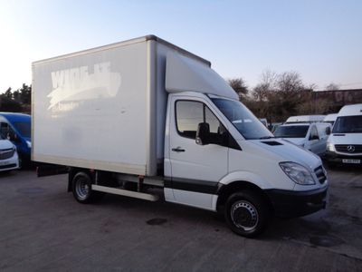 Mercedes-Benz Sprinter Luton 2.2 CDI 516 Chassis Cab 4dr MWB
