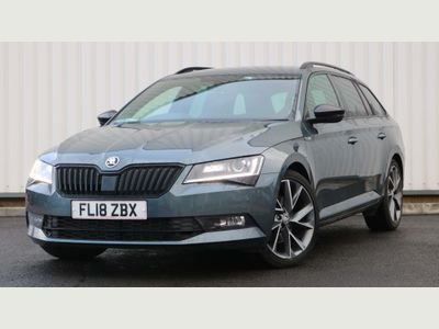 SKODA Superb Estate 2.0 TDI SportLine DSG (s/s) 5dr