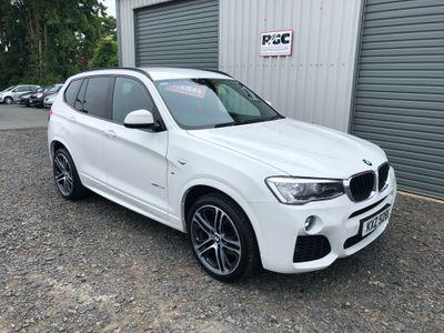 BMW X3 SUV 2.0 20d M Sport Sport Auto xDrive 5dr