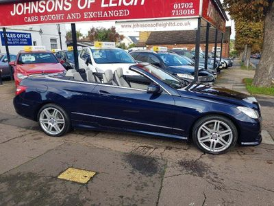Mercedes-Benz E Class Convertible 2.1 E250 CDI BlueEFFICIENCY Sport Cabriolet G-Tronic 2dr