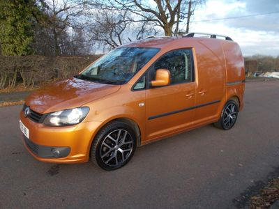 Volkswagen Caddy Panel Van 2.0 TDI BlueMotion Tech C20 Highline Panel Van DSG 3dr