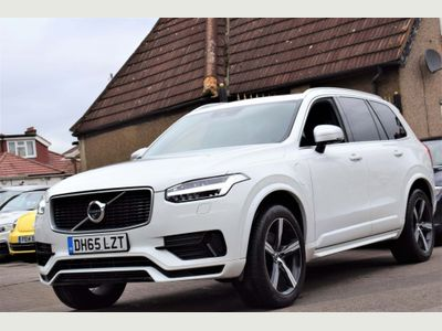 Volvo XC90 SUV 2.0h T8 Twin Engine 9.2kWh R-Design Geartronic 4WD (s/s) 5dr