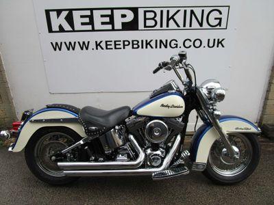 Harley-Davidson Softail Custom Cruiser 1450 FLSTC Heritage