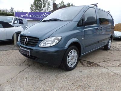 MERCEDES-BENZ VITO Panel Van 2.1 111CDI Dualiner Basic Compact Panel Van 5dr